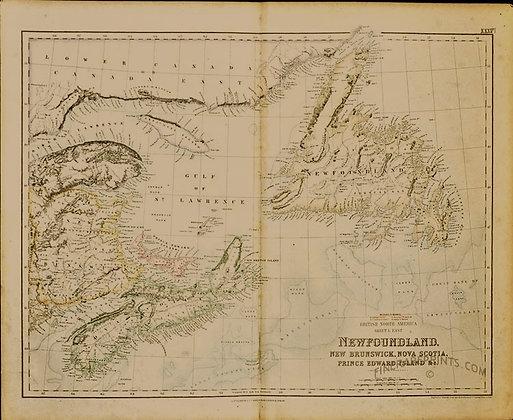 Newfoundland, New Brunswick, Nova Scotia, PEI &c.