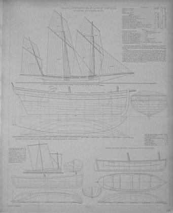 Bateaux Napolitains de la fin du XVIII Siecle Para