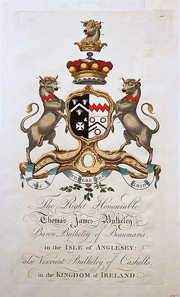 Crest of Thomas James Bulkeley
