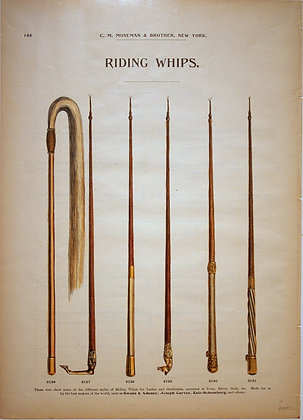 Plate 148: World Styles of Riding Whips
