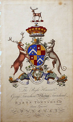Crest of George Townshend