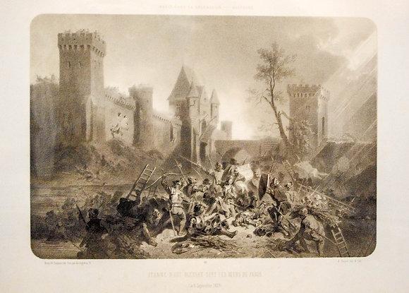 Jeanne d'Arc Bless�e sous les Murs de Paris