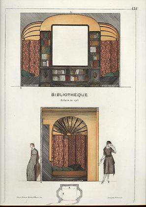 Plate 131: Bibliothéque