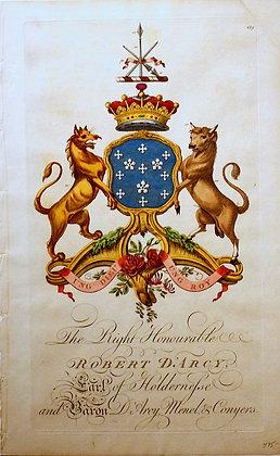 Crest of Robert D'Arcy