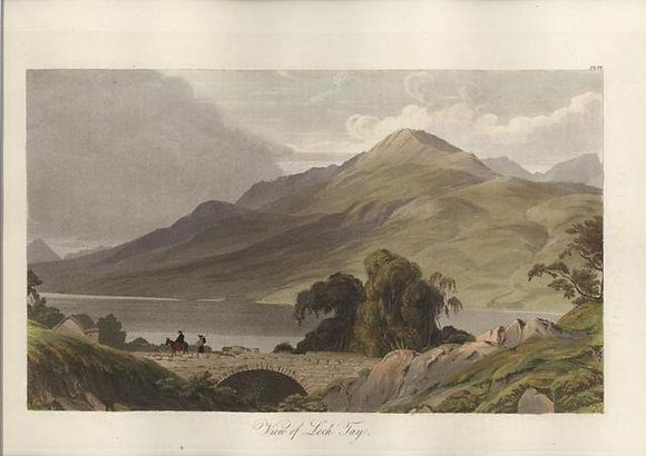 Plate 20: View of Loch Tay