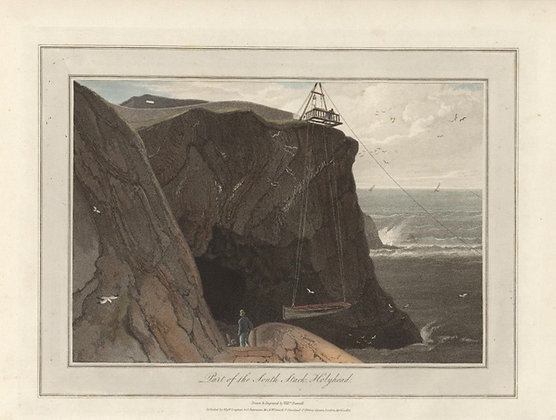 Plate 23: Part of the South Stack. Holyhead