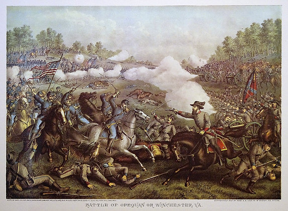 The Battle of Opequan or Winchester, VA.