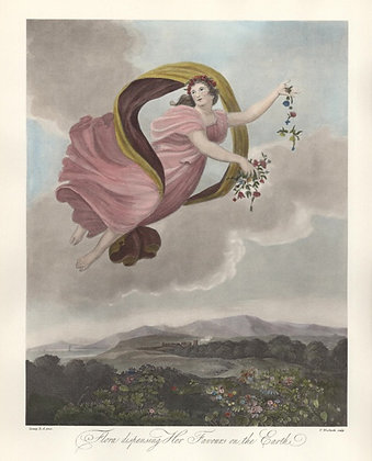 Plate 01: Flora dispensing Her Favours on the Eart