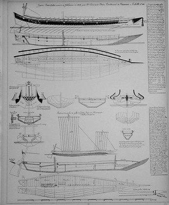 Petite galere de Jokohama et bateau de peche de J