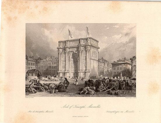 ARCH OF TRIUMPH, MARSEILLES