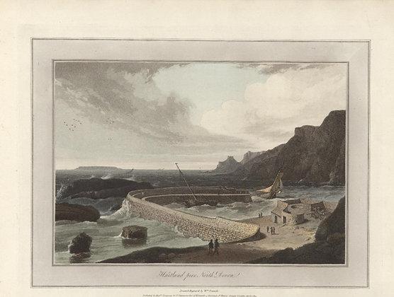 Plate 06: Hartland pier. North Devon