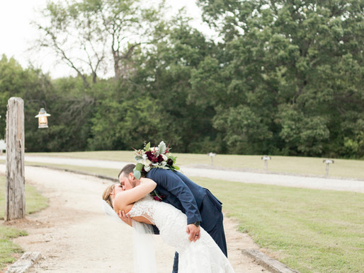Chris & Courtney Wedding | L'Abri at Linwood | Lexington, NC