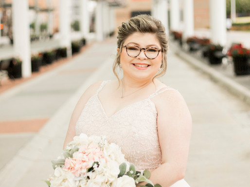 Callie Bryant's | Downtown High Point Train Station | Bridal Session | High Point, NC |