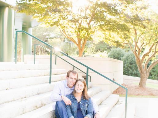 Allen & Jennifer | Engagement Session | Winston-Salem, North Carolina |