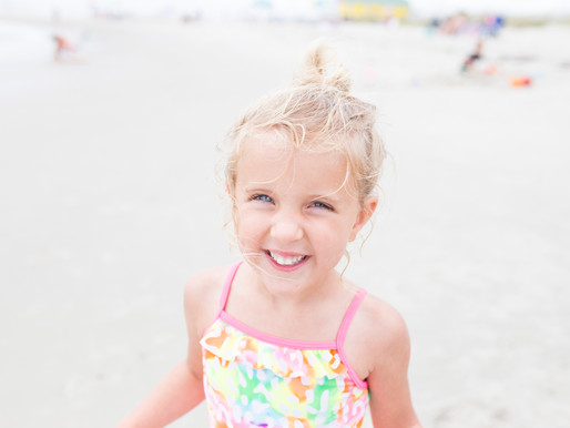Family Beach Trip | Haggerty - Stone | Holden Beach, North Carolina |