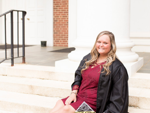 Kendall Fraley | FREE Session Contestant | Graduation Session | Guilford College | Greensboro, NC