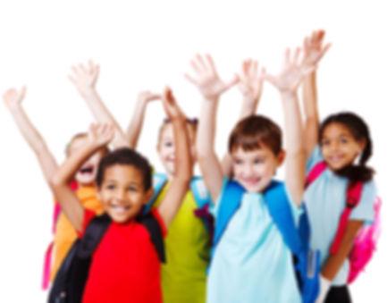 bigstock-Five-happy-children-with-their-