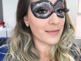 Maquiagem de Máscara Carnavalesca