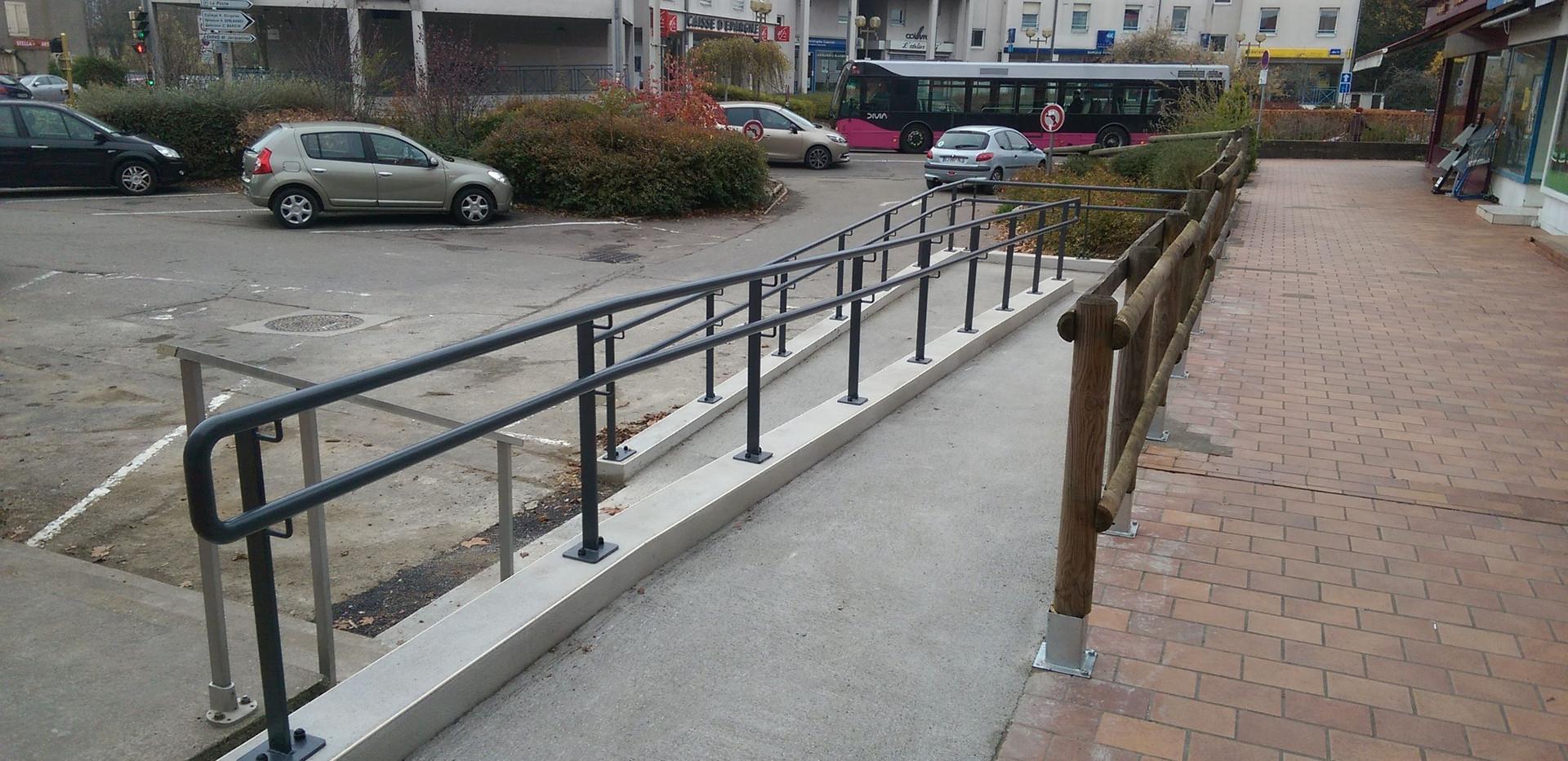 Rampe handicapés