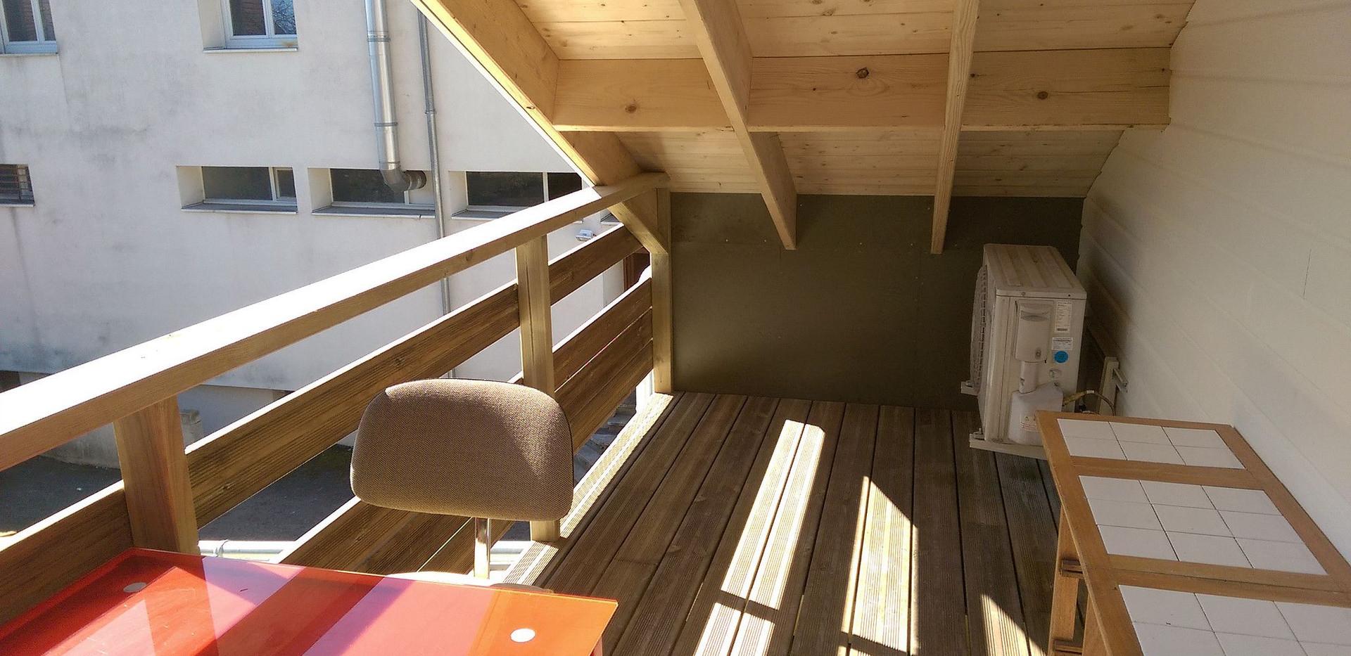 Extension et création terrasse