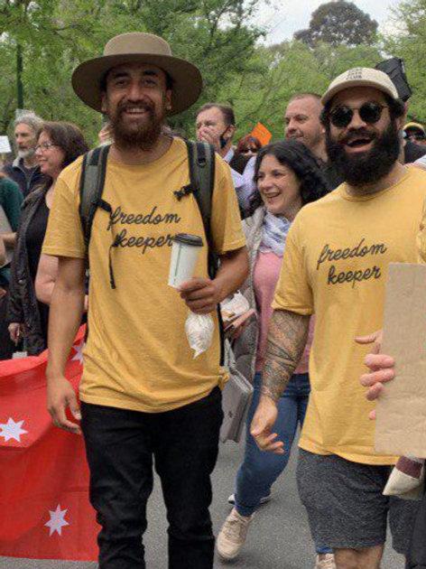 Men's Freedom Keepers T-Shirt - Original Logo