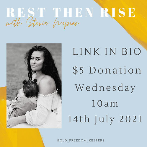 QLD FK Community Call 14th July 10AM