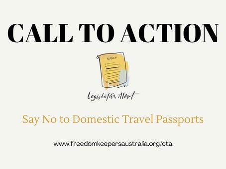 Say No to Domestic Travel Passports