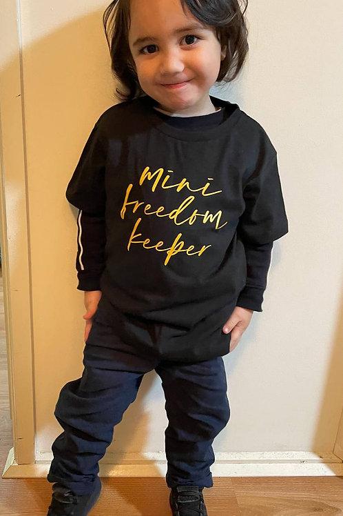 "Children's ""Mini Freedom Keeper"" T-shirt - NEW logo"