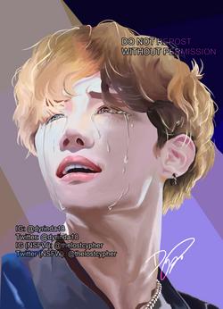 [BTS] - Crying Hobi