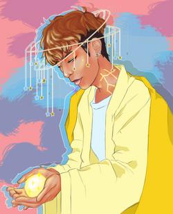 Cosmic Boy Darren