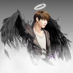 [BTS] Fallen Angel Jungkook_No wound