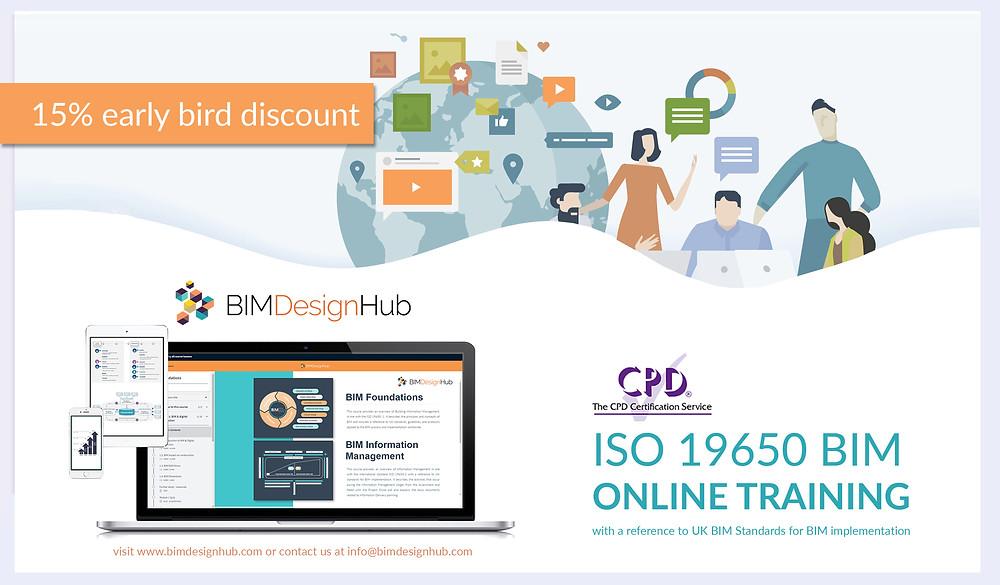 BIM (ISO 19650) online training, BIM Design Hub