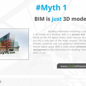 4 Myths about BIM