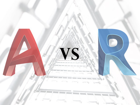 The difference between Autocad & Revit