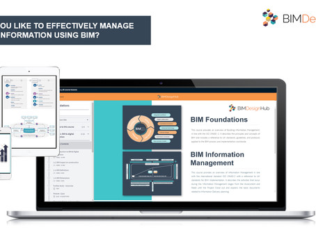 ISO 19650 certified BIM courses launch