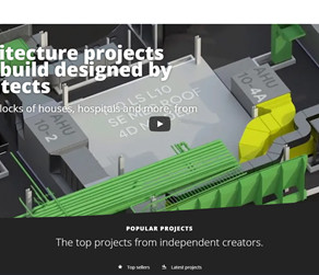 The right place to sell your architectural projects online