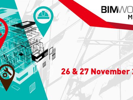 BIM World Munich event, 26,27th November