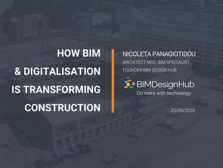How BIM & digitalization is transforming construction