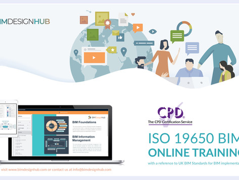 BIM ISO 19650 CPD certified courses launch