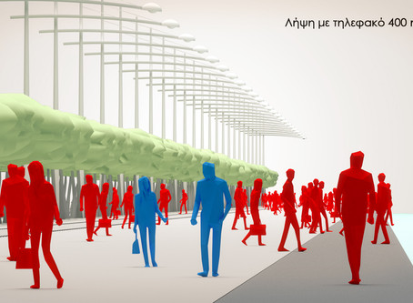 """The """"disobedient"""" citizens of Thessaloniki waterfront from the architect's point of view (Covid 19)"""