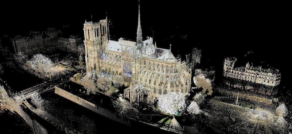 Point cloud_Notre Dame_Tallon