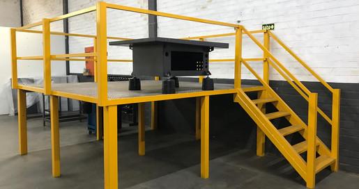 Plataforma de montagem