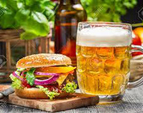 Post-race recovery: Drinking beer and eating burgers?