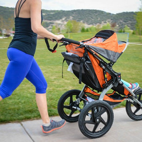 How to run with a stroller
