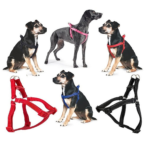 Ancol Nylon Padded Dog / Puppy Reflective Harness