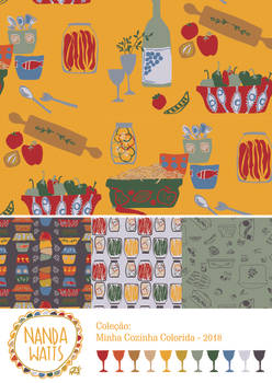 minha cozinha colorida