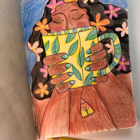 O caderno