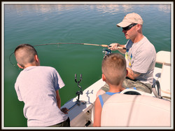 Hero Gets to Fish with his Sons