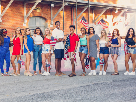 MBP VIP TEAM 21 RED WHITE & BLUE PHOTOSHOOT | CLASS OF 2021