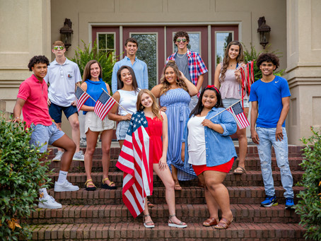 RED WHITE & BLUE | MBP SENIOR TEAM 20
